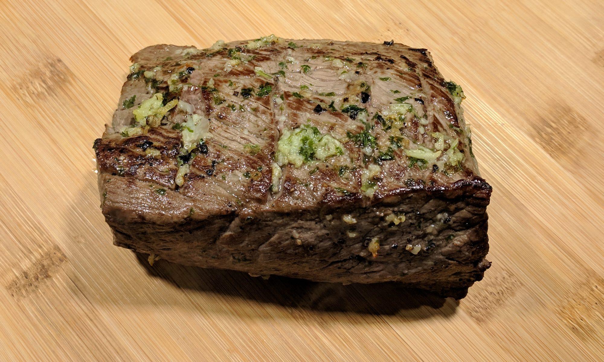 Rosbief uit de oven braadstuk rundvlees vlees
