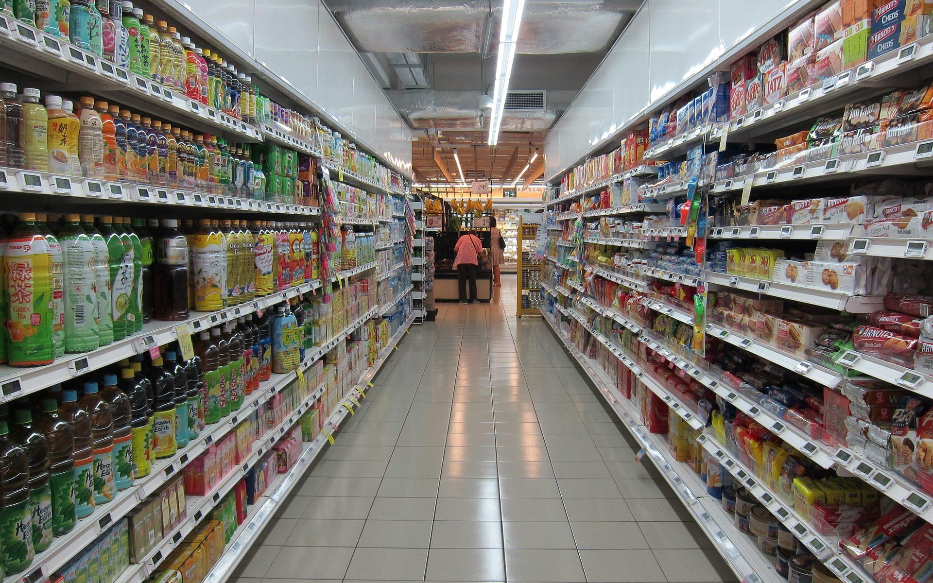 Chinese supermarkt toko
