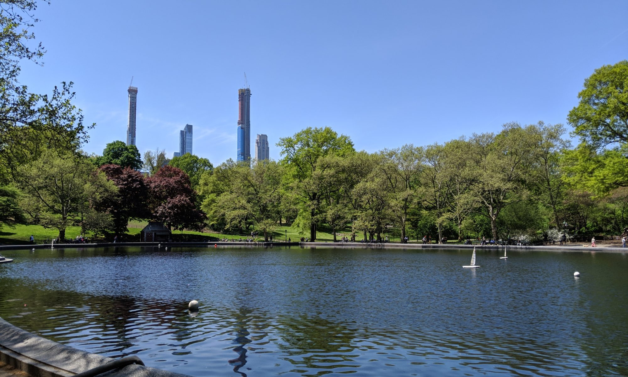 Central Park view skyline
