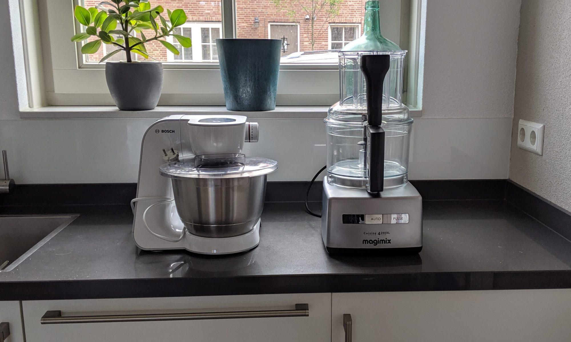Keukenmachine en foodprocessor