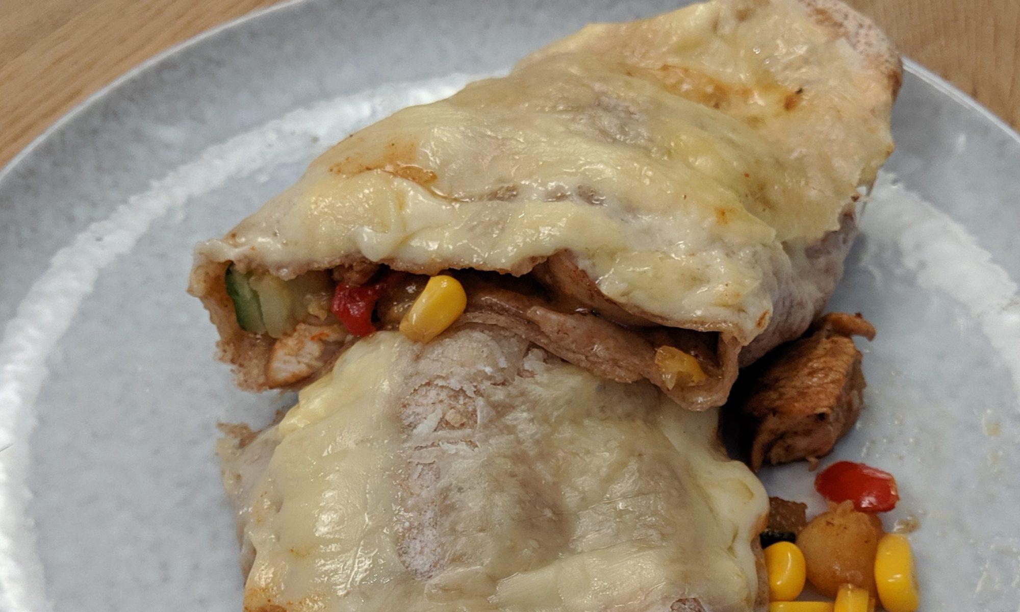Mexicaanse wraps met Kip